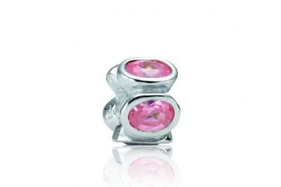 Abalorio PANDORA circonitas rosa
